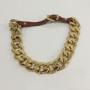 Authentic Michael Kors Chain Necklace/bracelet